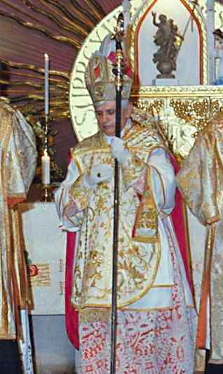 Tridentine Mass at Wigratzbad 1990